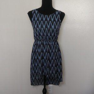 H&M Kids Chevron Sleeveless Hi Low Dress